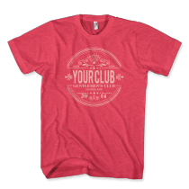 vc7118 - classy circle(heather red)